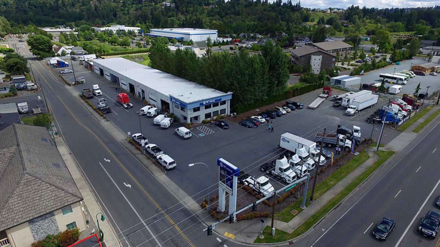 Tacoma semi truck dealership