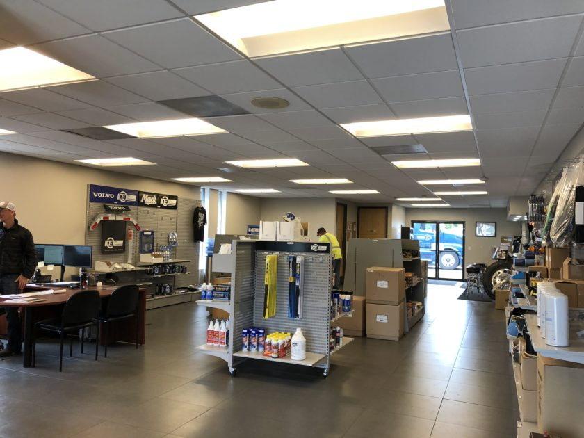Eugene heavy duty truck parts showroom