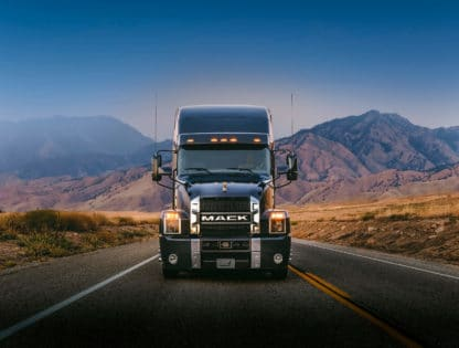 New semi truck sales, Mack Anthem