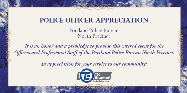 Police Officer Appreciation